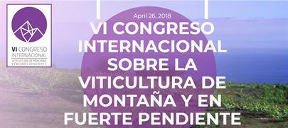 Llega a Tenerife el VI Congreso de viticultura de montaña y fuerte pendiente