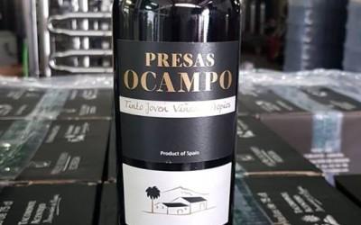 Tinto joven de Presas Ocampo, medalla de plata en El Mondial des Vins Extrêmes