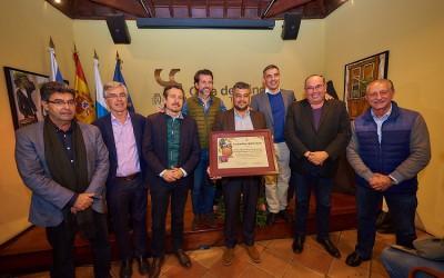 Tacoronte Acentejo recibe un reconocimiento a toda su trayectoria