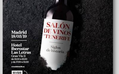 """Presas Ocampo en el """"Salón de Vinos de Tenerife"""" en Madrid"""