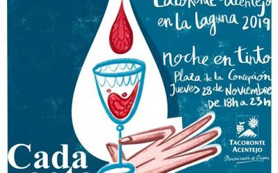28 de noviembre, Noche en Tinto en La Laguna