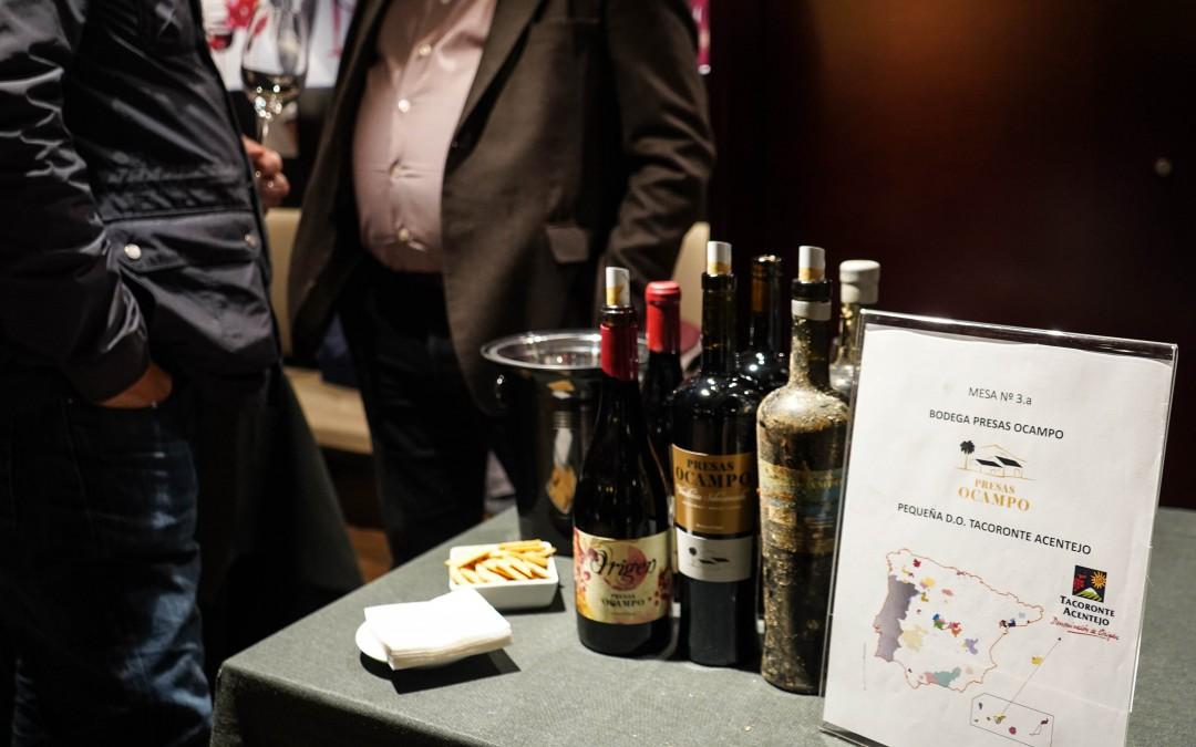 Presas Ocampo en el I Showroom de Vinos de Pequeñas D.O.'s
